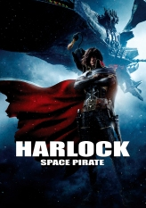 Harlock Space Pirate Poster