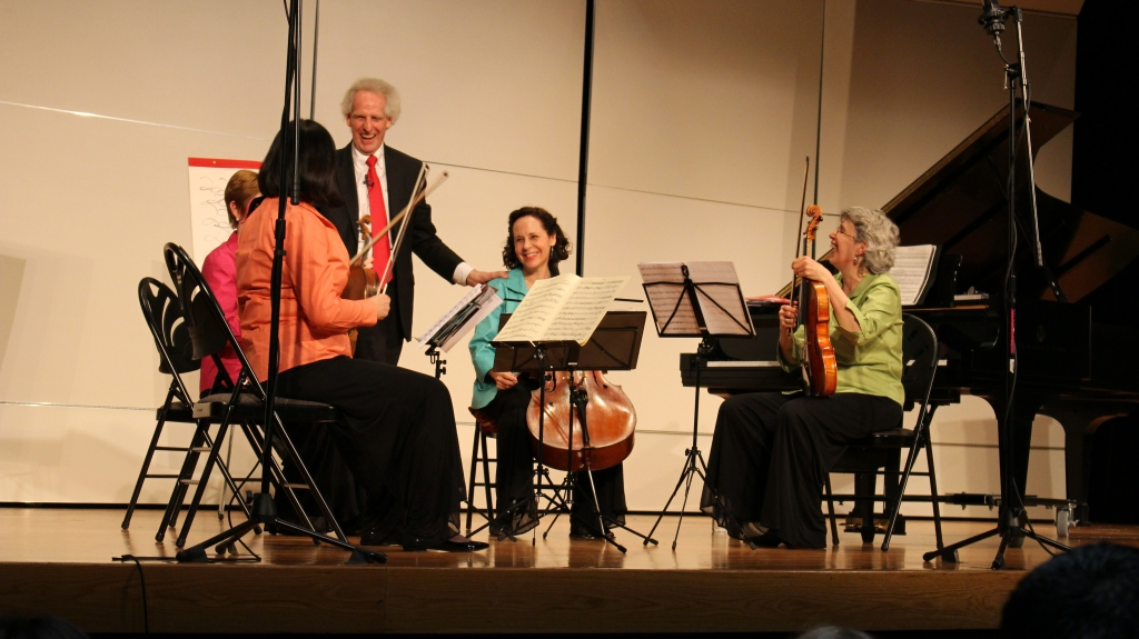 benjamin and quartet 1